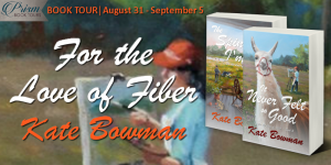 Blog Tour Finale (and a Giveaway!): For the Love of Fiber series by Kate Bowman
