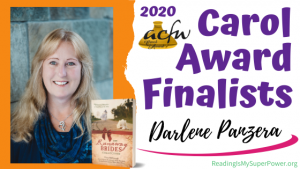 2020 Carol Award Finalists Q&A (and a Giveaway!): Darlene Panzera & The Groom She'd Thought She Left Behind
