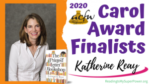 2020 Carol Award Finalists Q&A (and a Giveaway!): Katherine Reay & The Printed Letter Bookshop