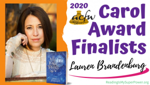 2020 Carol Award Finalists Q&A (and a Giveaway!): Lauren H. Brandenburg & The Death of Mungo Blackwell