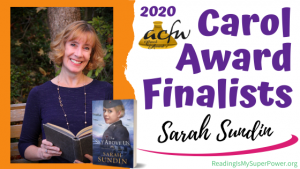 2020 Carol Award Finalists Q&A (and a Giveaway!): Sarah Sundin & The Sky Above Us