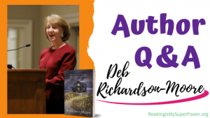 Author Interview (and a Giveaway!): Deb Richardson-Moore & Murder, Forgotten