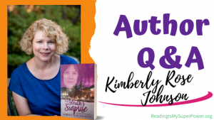 Author Interview (and a Giveaway!): Kimberly Rose Johnson & The Sleuth's Surprise