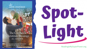Book Spotlight (and a Giveaway!): The Cowboy's Christmas Blessings by Jill Kemerer