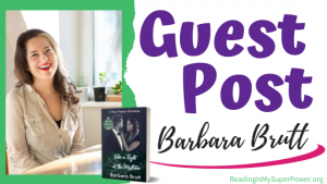 Guest Post (and a Giveaway!): Barbara Brutt & Take a Right at the Mistletoe