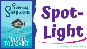 Book Spotlight (and a Giveaway!): Spawning Suspicion by Maggie Toussaint