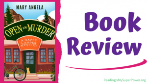 Book Review (and a Giveaway!): Open for Murder by Mary Angela