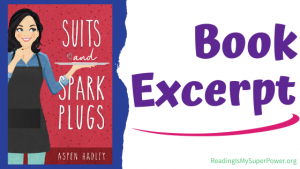 Book Spotlight (and a Giveaway!): Suits and Spark Plugs by Aspen Hadley