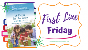 First Line Friday (and a Giveaway!): A Future for His Twins