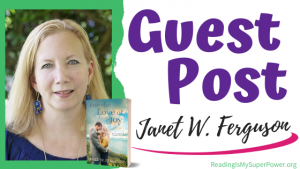 Guest Post (and a Giveaway!): Janet W. Ferguson & For the Love of Joy