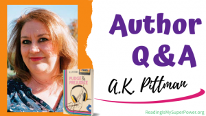 Author Interview (and a Giveaway!): A.K. Pittman & Pudge and Prejudice