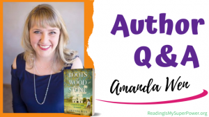 Author Interview (and a Giveaway!): Amanda Wen & Roots of Wood and Stone