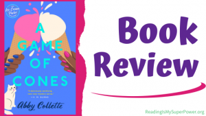 Book Review (and a Giveaway!): A Game of Cones by Abby Collette