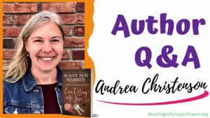 Author Interview (and a Giveaway!): Andrea Christenson & Can't Buy Me Love