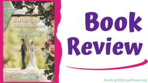 Book Review (and a Giveaway!): A Marriage of Inconvenience by Amy Vastine