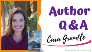 Author Interview (and a Giveaway!): Cara Grandle & The Rock