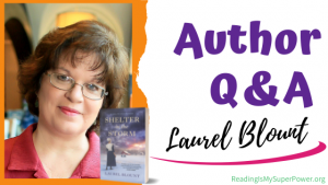 Author Interview (and a Giveaway!): Laurel Blount & Shelter in the Storm