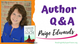Author Interview (and a Giveaway!): Paige Edwards & Danger on the Loch