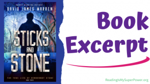 Book Spotlight (and a Giveaway!): Sticks and Stone by David James Warren