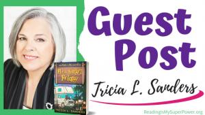 Guest Post (and a Giveaway!): Tricia L. Sanders & Flea Market Felony