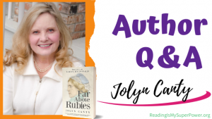 Author Interview (and a Giveaway!): Jolyn Canty & Far Above Rubies