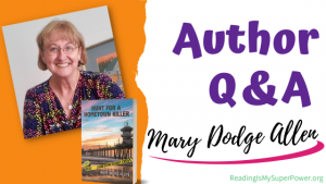 Author Interview (and a Giveaway!): Mary Dodge Allen & Hunt for a Hometown Killer
