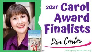 2021 Carol Award Finalists (and a Giveaway!): Lisa Carter & The Christmas Bargain