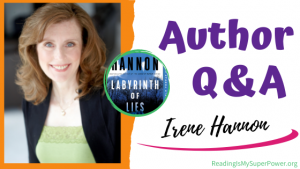 Author Interview (and a Giveaway!): Irene Hannon & Labyrinth of Lies
